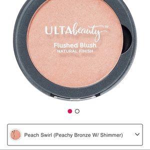 Peach Swirl Ulta Beauty Flushed Blush